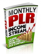Monthly PLR Income Stream