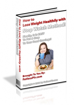 How to Lose Weight Healthy with Stop Watch Method!
